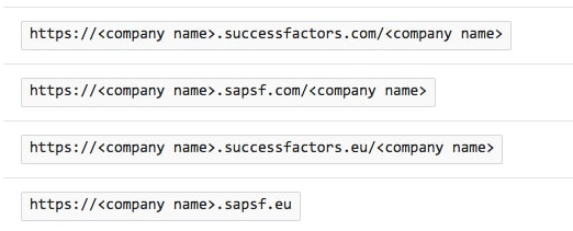 Azure Active Directory integration with SAP SuccessFactors